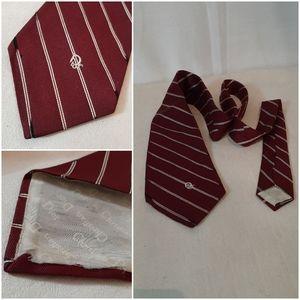 Christian Dior Striped Tie